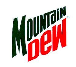 Mountain Dew Logo - A Look at the Mountain Dew Logos | Mtn Dew Kid