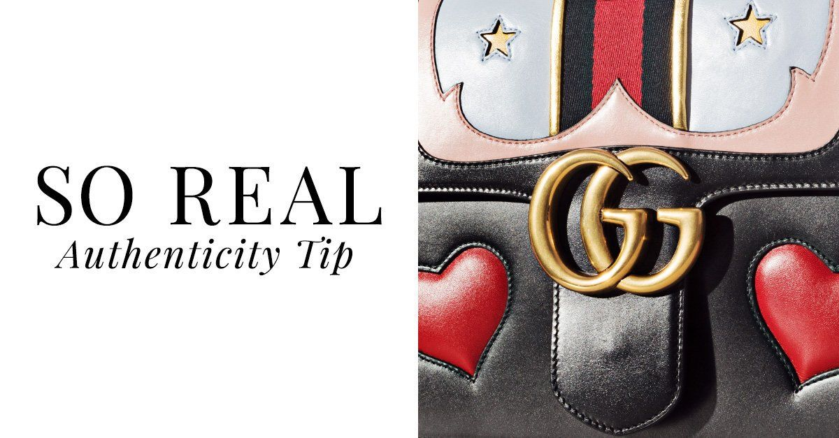 cad686a94 Real Gucci Logo - The RealReal on Twitter: