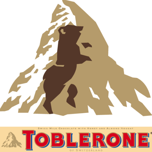 Toblerone Logo - There's A Secret Message Hidden In The Toblerone Logo That No One ...