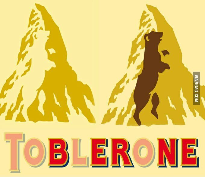 Toblerone Logo - 7 Amazing Facts About Toblerone You Need To Know Today.