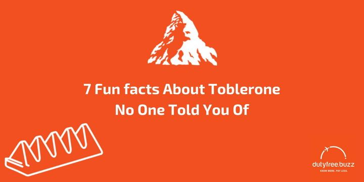 Toblerone Logo - 7 Fun Facts About Toblerone No One Told You Of - Duty Free Buzz Blog