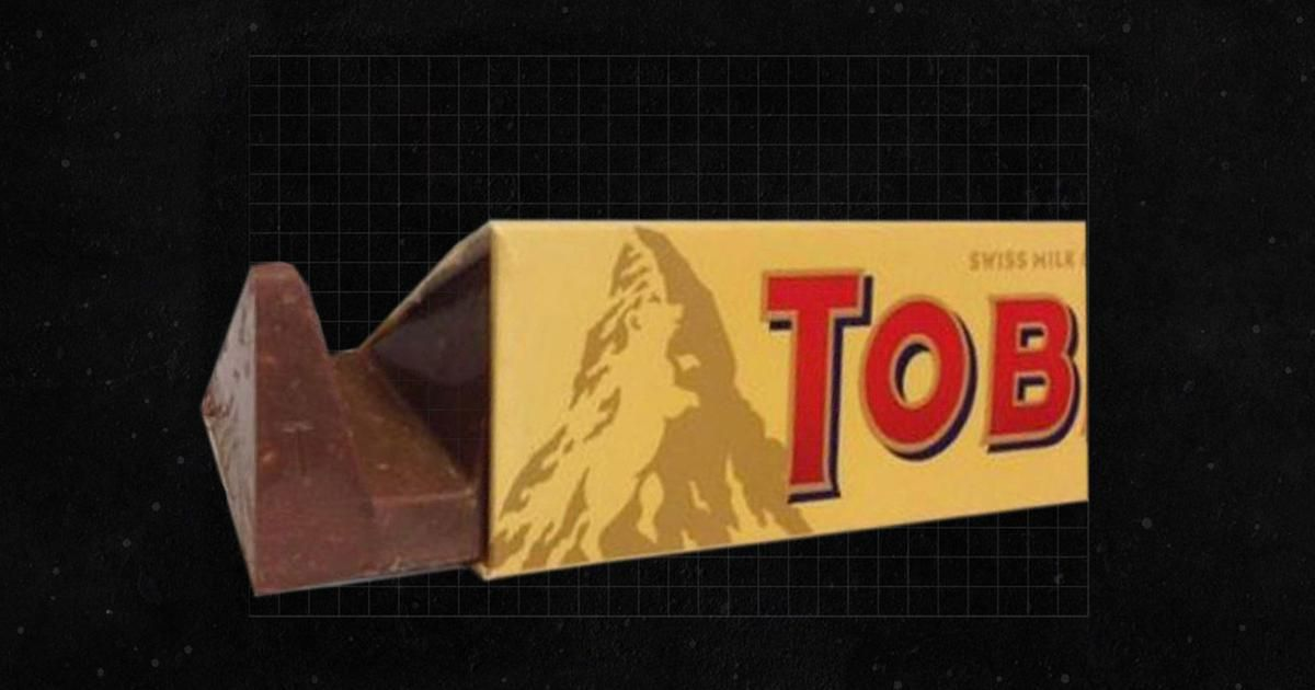 Toblerone Logo - Going viral: Logo of Swiss chocolate brand Toblerone: has a bear in ...