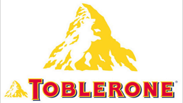 Toblerone Logo - Toblerone Pyramid Sign | Illuminati Symbols