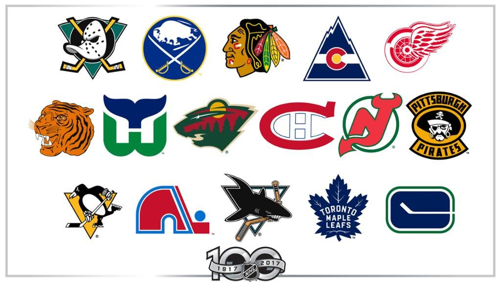 Silver C Yellow Triangle Logo - Greatest NHL logos of all time