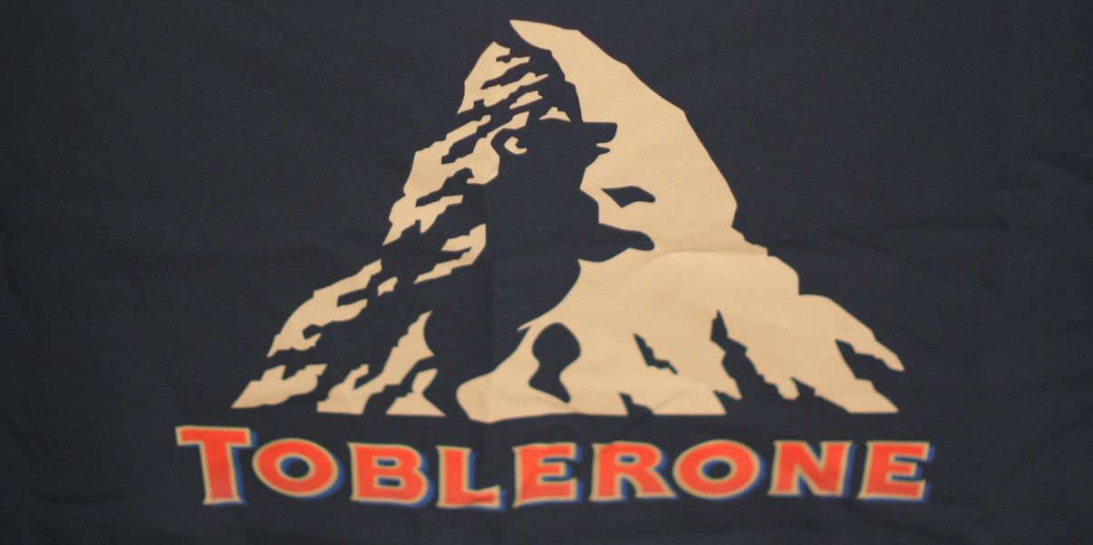 Toblerone Logo - How have we missed the secret symbol in the Toblerone logo? - Read Food