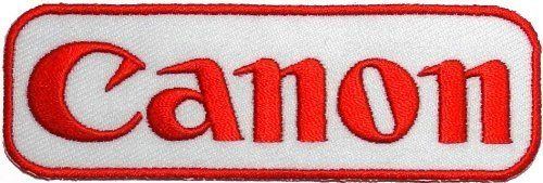 Canon Logo - Amazon.com: Canon Embroidered Iron on Patch ,Sew On Logo Clothes ...