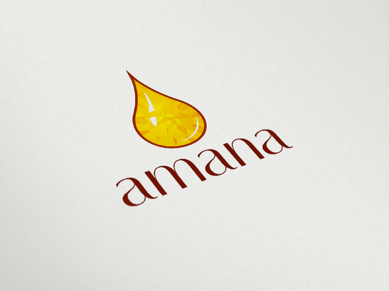 Amana Logo - Amana Honey Logo by Mukhtar Sanders | Dribbble | Dribbble