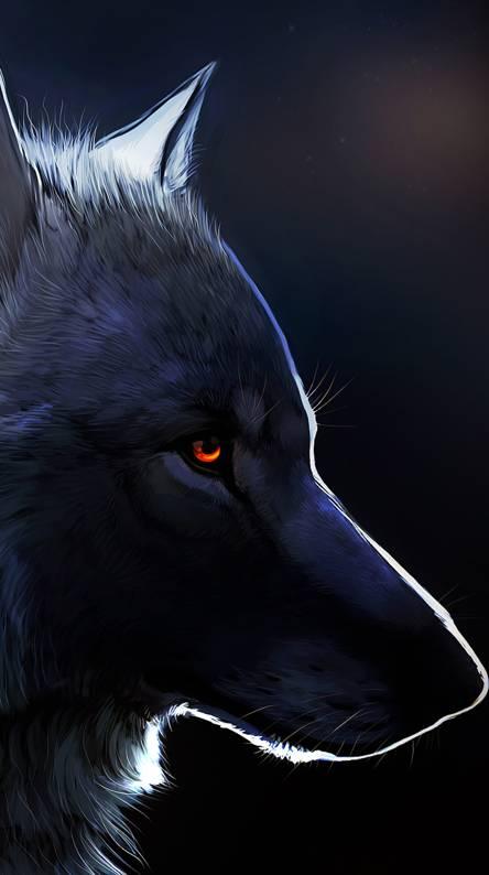 Dark Wolf Cool Logo Logodix