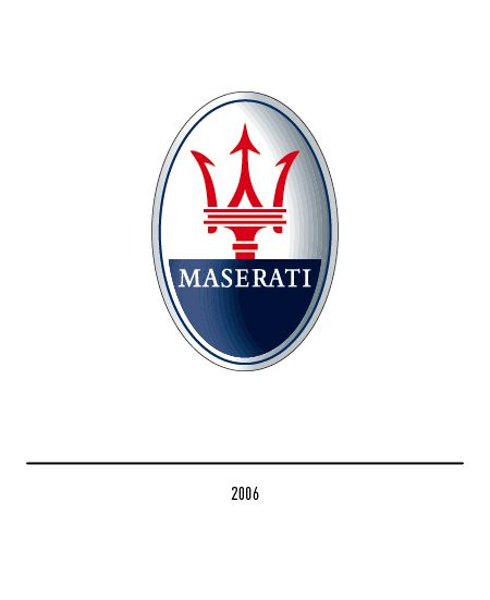 Maserati Logo - The Maserati logo - History and evolution
