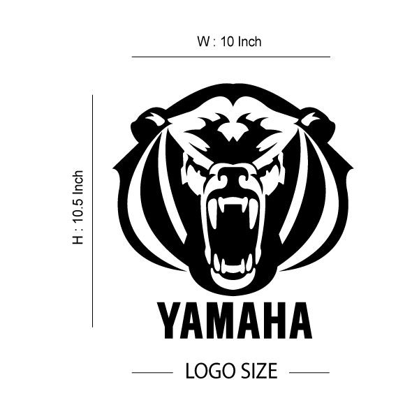 Yamaha Grizzly Logo - LogoDix  Yamaha Grizzly Symbol