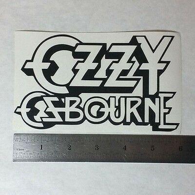 Vinyl Sticker Decal Ozzy Bat band indoor//outdoor full color osbourne