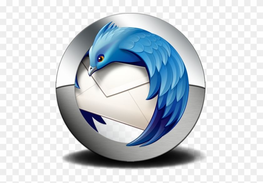 Mozilla Thunderbird Logo - LogoDix