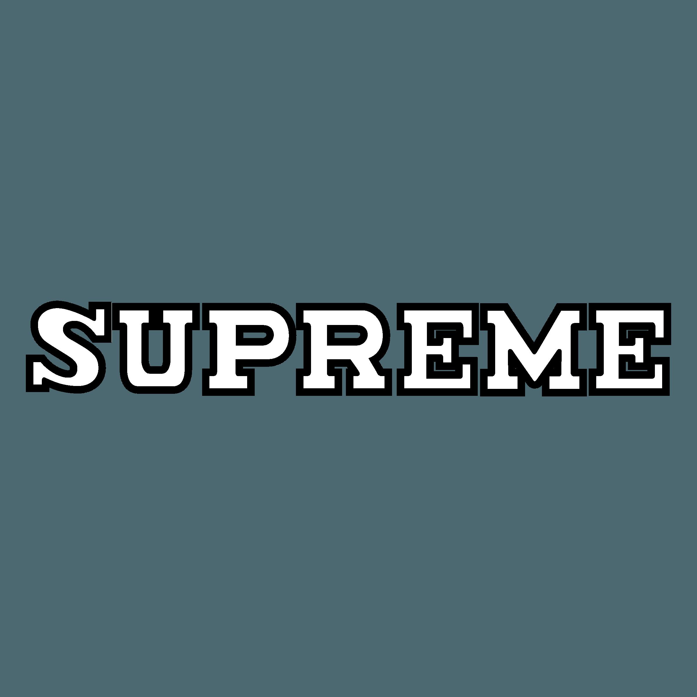 Supreme Logo Png White