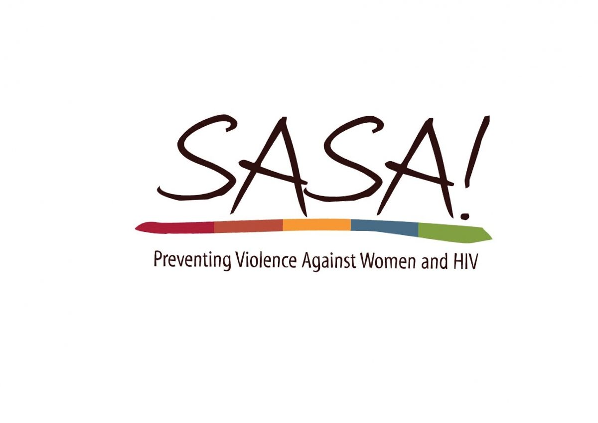 Sasa Logo - SASA! Act now against violence | STRIVE