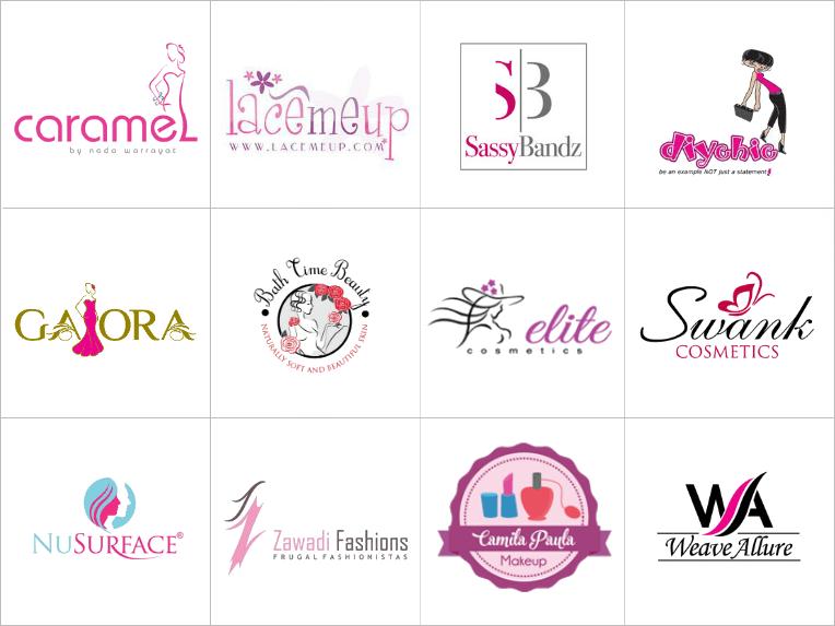 Makeup Cosmetic Brand Logo Loix