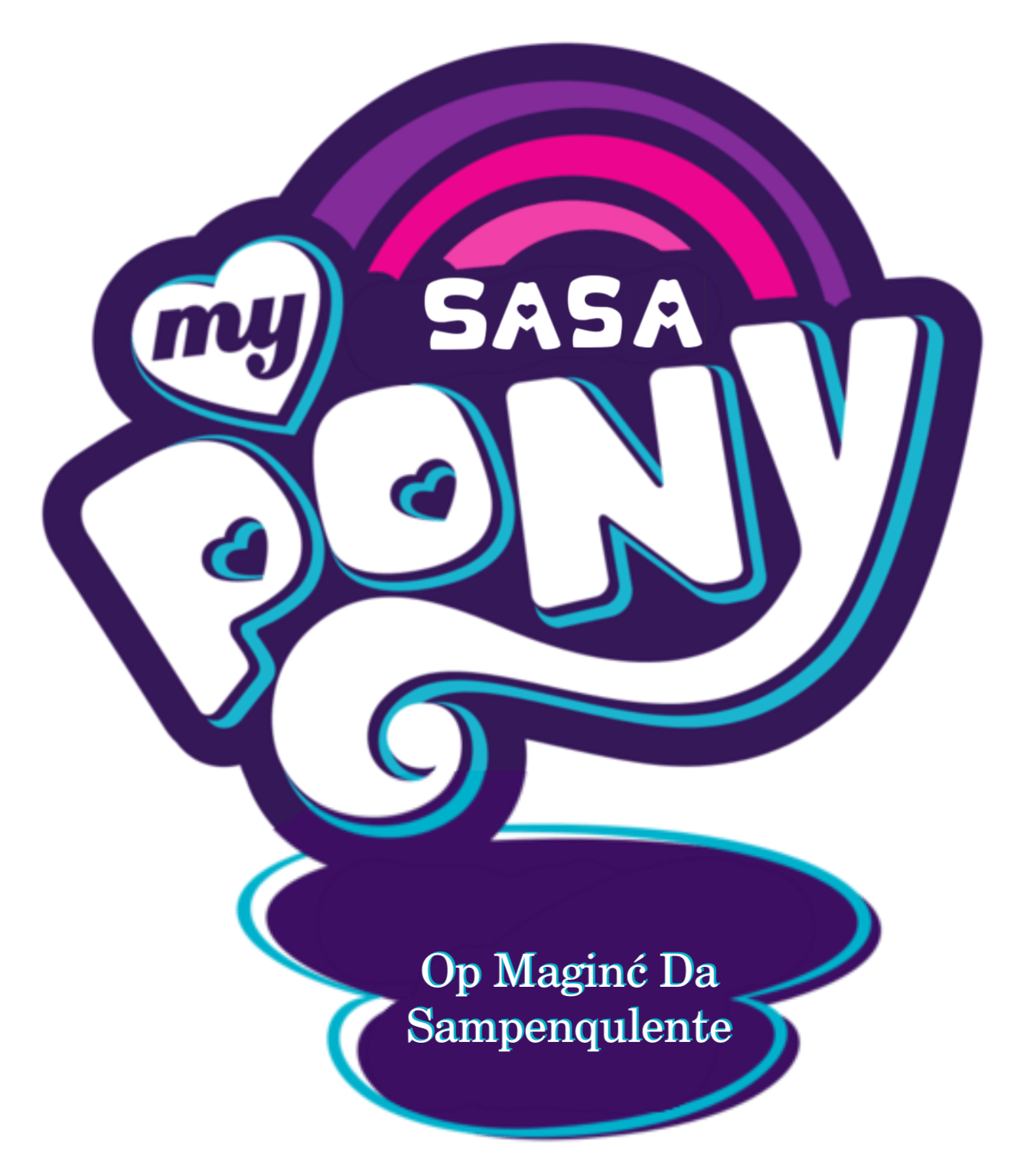 Sasa Logo - Image - MLP-FIM logo Sallyish 3 My Sasa Pony version.png | Dream ...