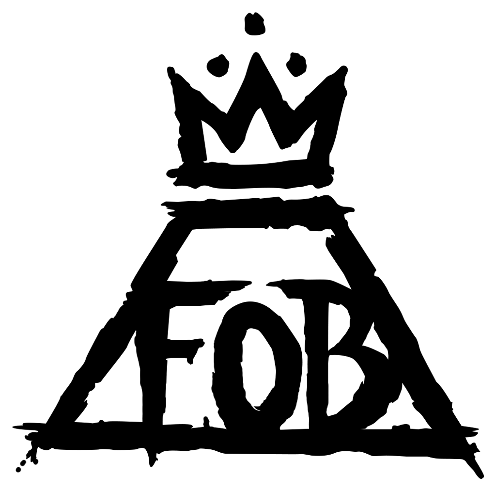 FOB Fall Out Boy Logo - Fall Out Boy Logo transparent PNG - StickPNG