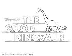 Thunderclap Coloring Page - Free The Good Dinosaur Coloring Pages ... | 182x236