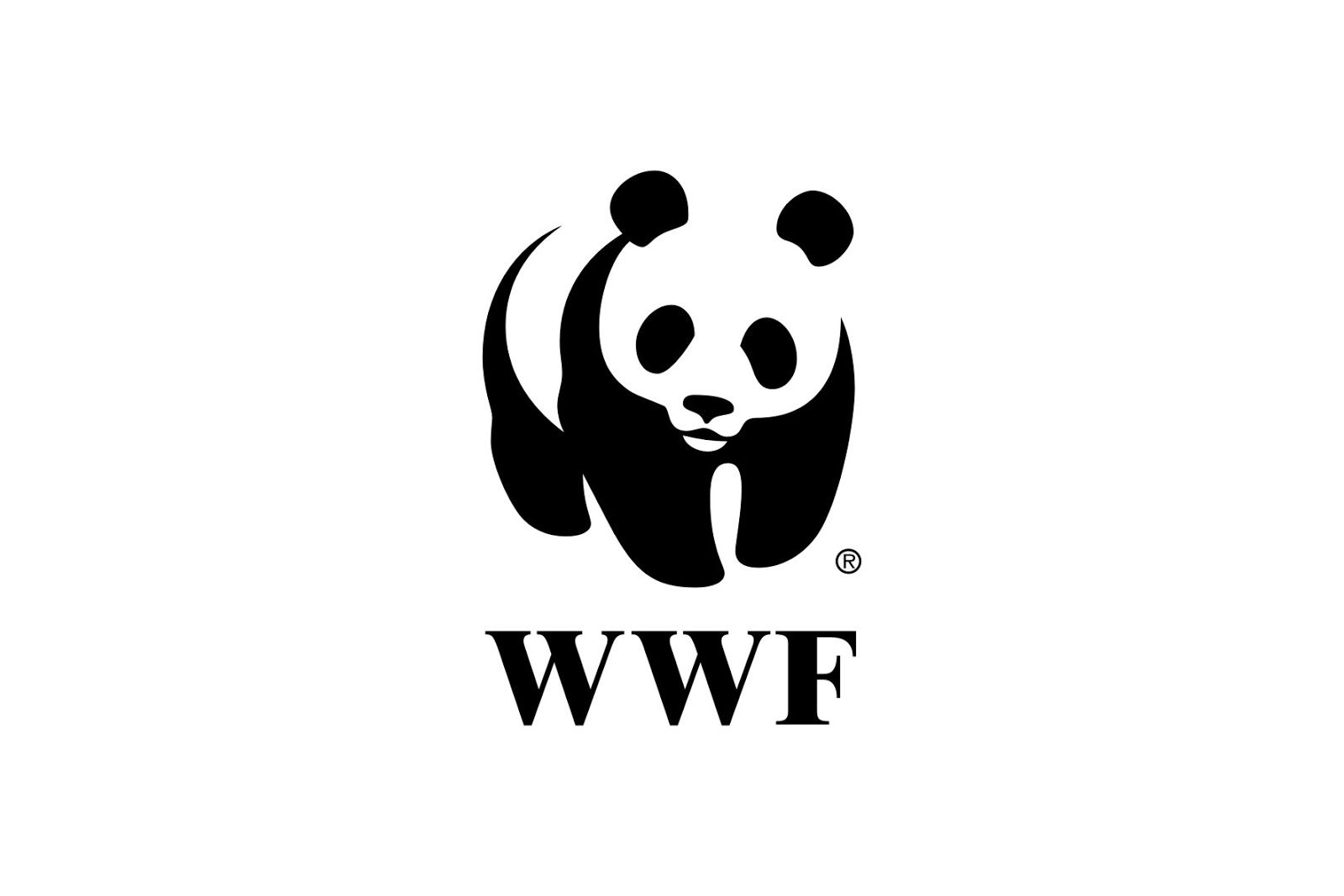 WWF Logo - WWF Panda Logo】| WWF Panda Logo Vector Free Download