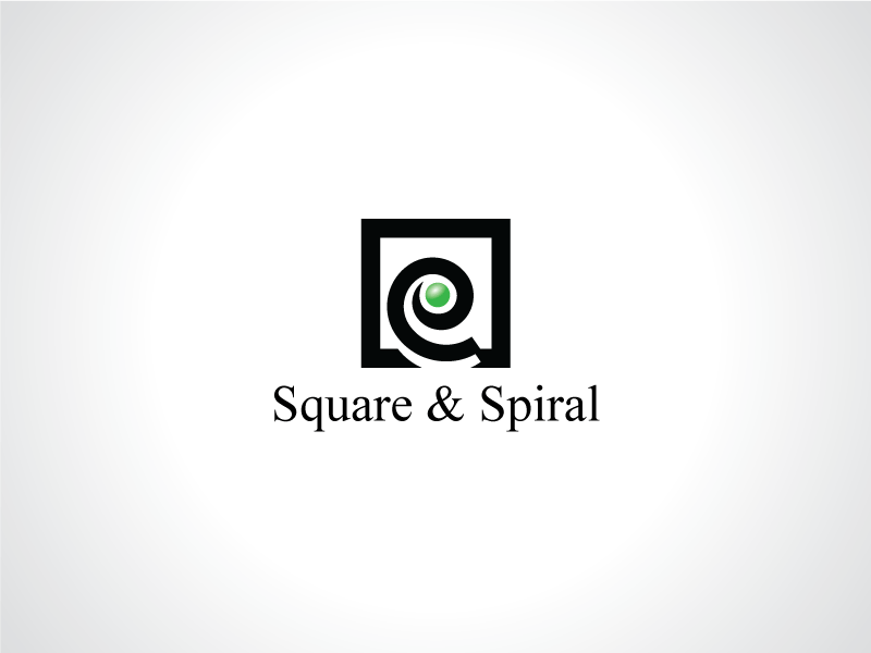 Square Logo - Spiral And Square Logo Template by Heavtryq | Dribbble | Dribbble