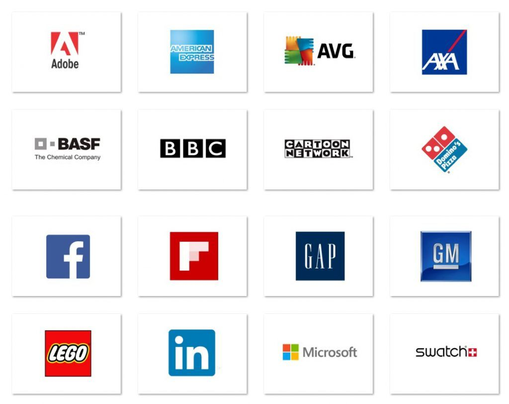 Square Logo - Famous Brands with Square Logos
