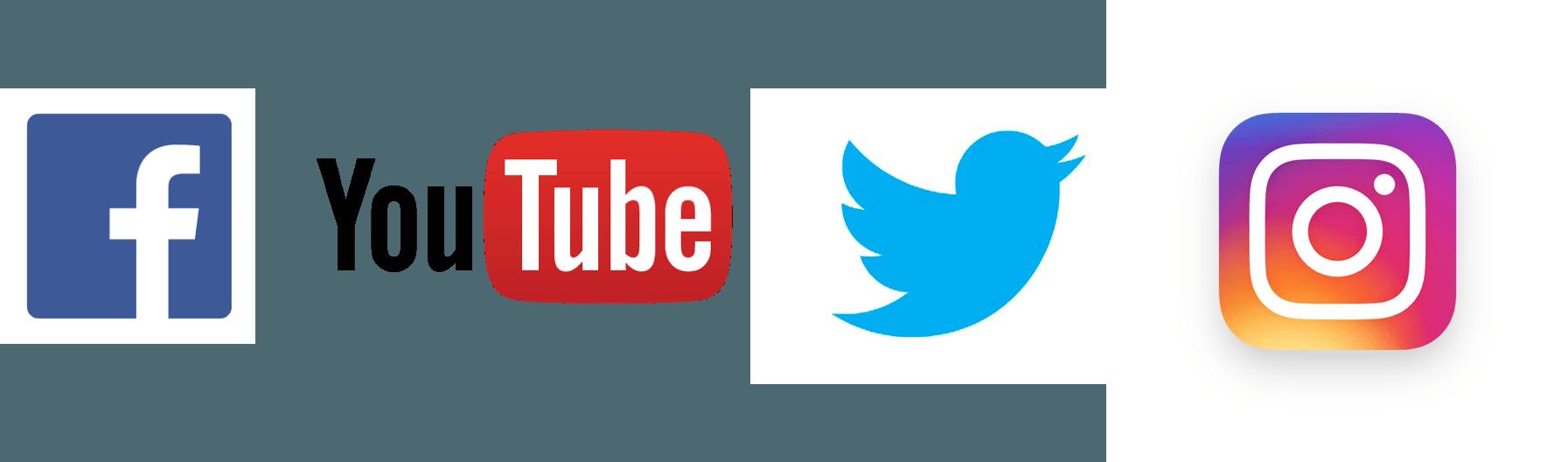 Facebook YouTube Instagram Logo - LogoDix