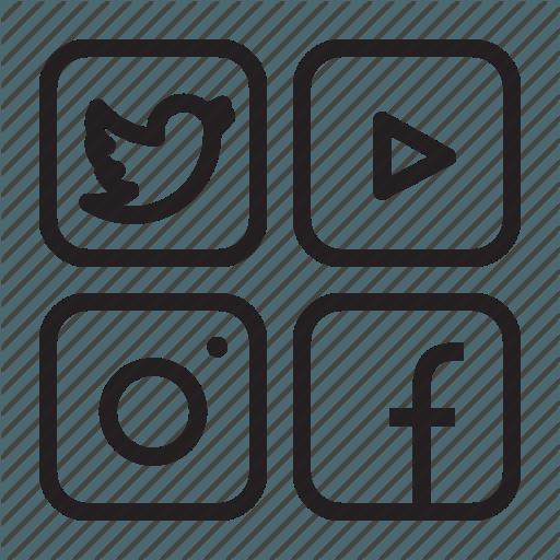 Facebook Youtube Instagram Logo Logodix