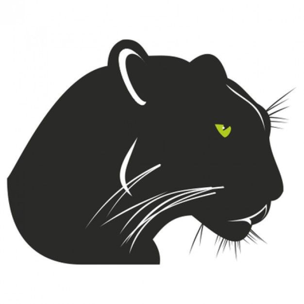 Black and Green Eye Logo - Panther with angry green eyes Vector | Free Download