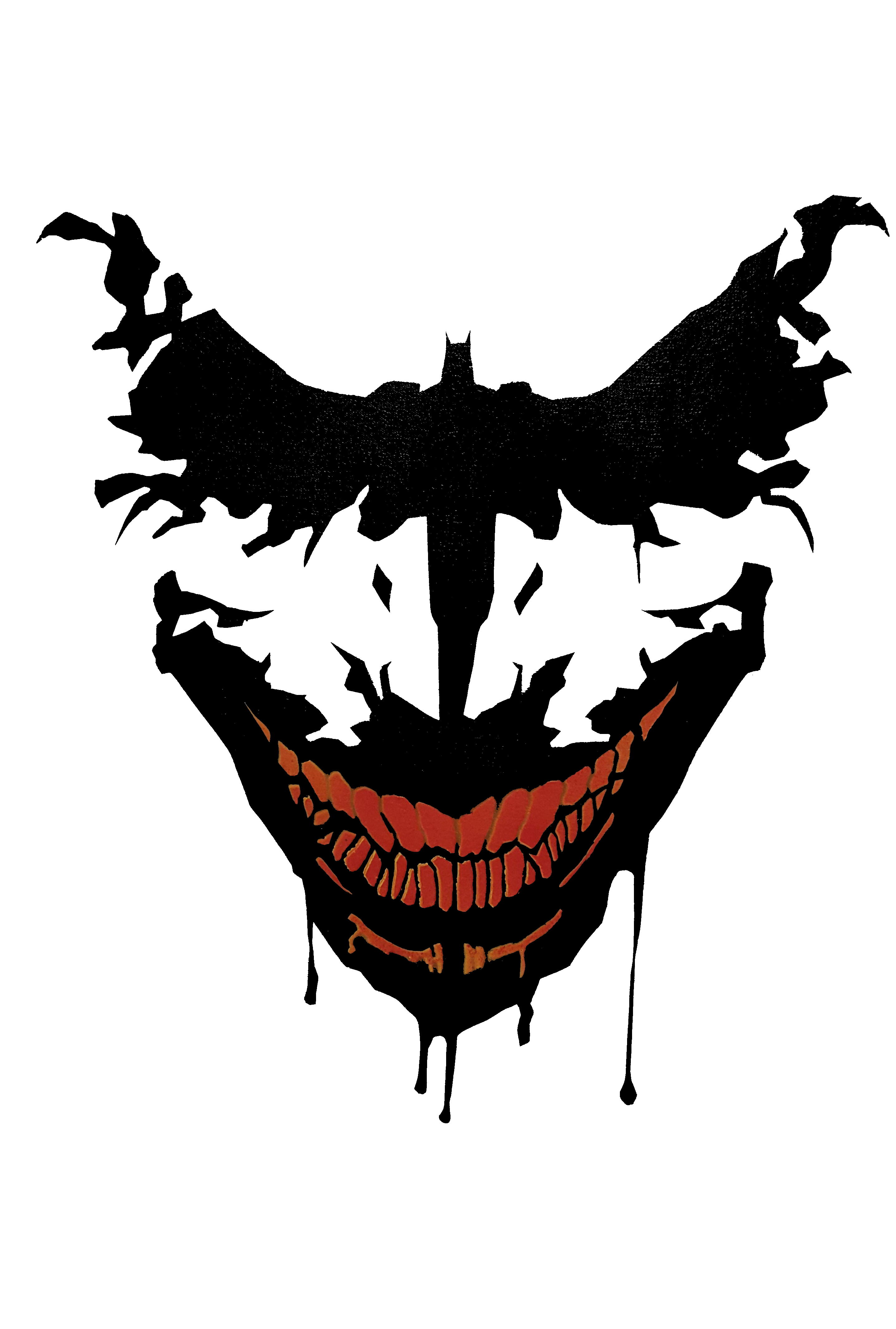 Joker logo u see what u want zain batman comics