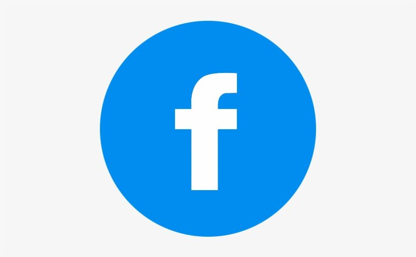 Blue Circle Facebook Logo Logodix