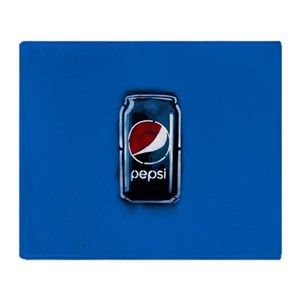 4f7f14d1 Pepsi Can Logo - Pepsi Blankets - CafePress