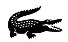 Lacoste Logo - Lacoste changes it's iconic crocodile logo to help endangered species