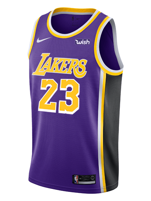 new concept 0187f 38c8e Wish On Lakers Jersey Logo - LogoDix