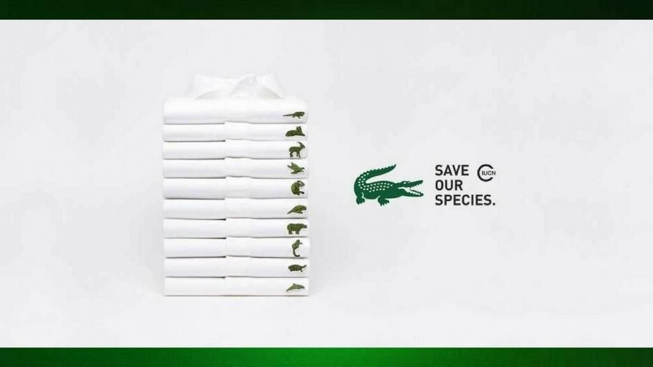 Lacoste Logo - Lacoste swaps its iconic crocodile logo for endangered species ...