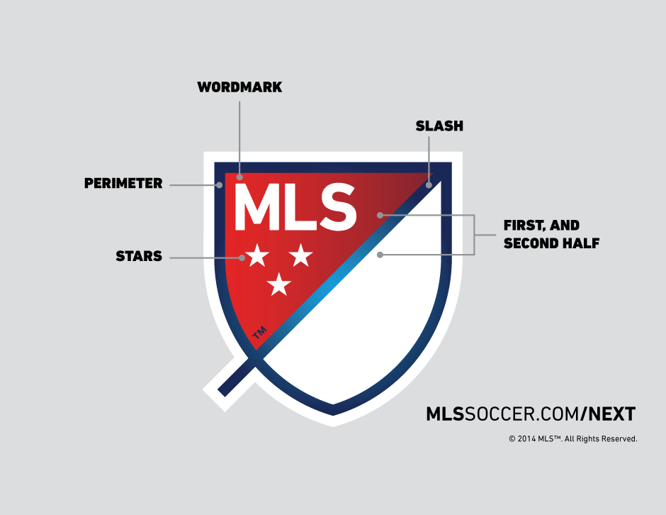MLS Logo - MLS unveils new logo and it has a little tail | For The Win