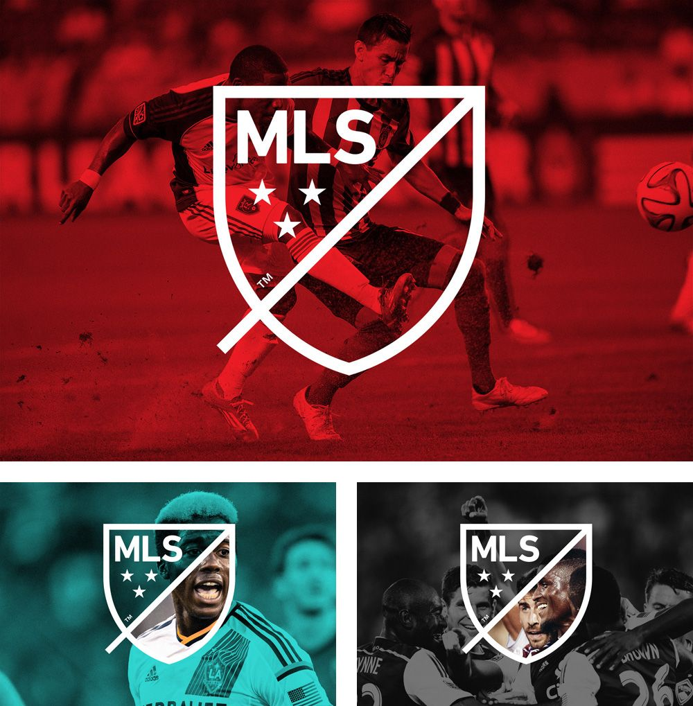 MLS Logo - Brand New: New Logo for MLS by Athletics and Berliner Benson