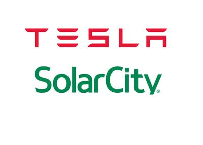 SolarCity Logo - Investors, Analysts Give Thumbs Down To Proposed Tesla/SolarCity Deal