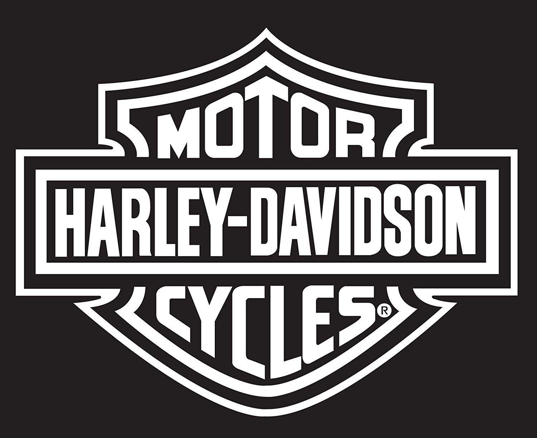 Black and White Harley-Davidson Logo - LogoDix