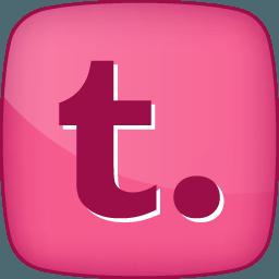 Pink Tumblr Logo Logodix