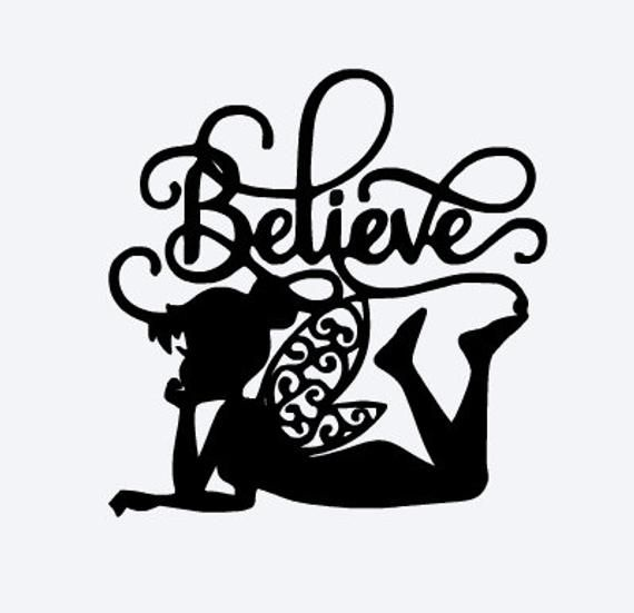 graphic relating to Tinkerbell Silhouette Printable identified as Tinkerbell Black and White Emblem - LogoDix