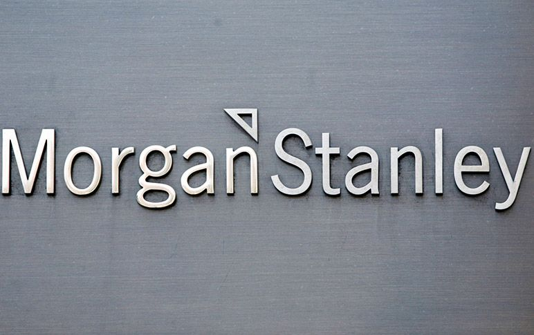 Morgan Stanley Logo - Morgan Stanley to Move Deeper Into Retail by Buying Stock-Plan ...