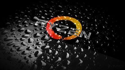 Amd Ryzen 4k Logo Logodix