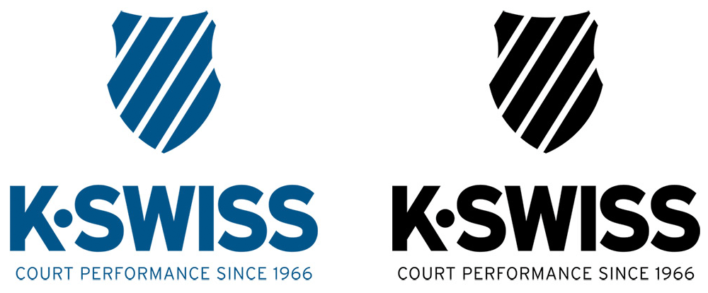 K-Swiss Logo - Brand New: New Logo and Identity for K•Swiss done In-house