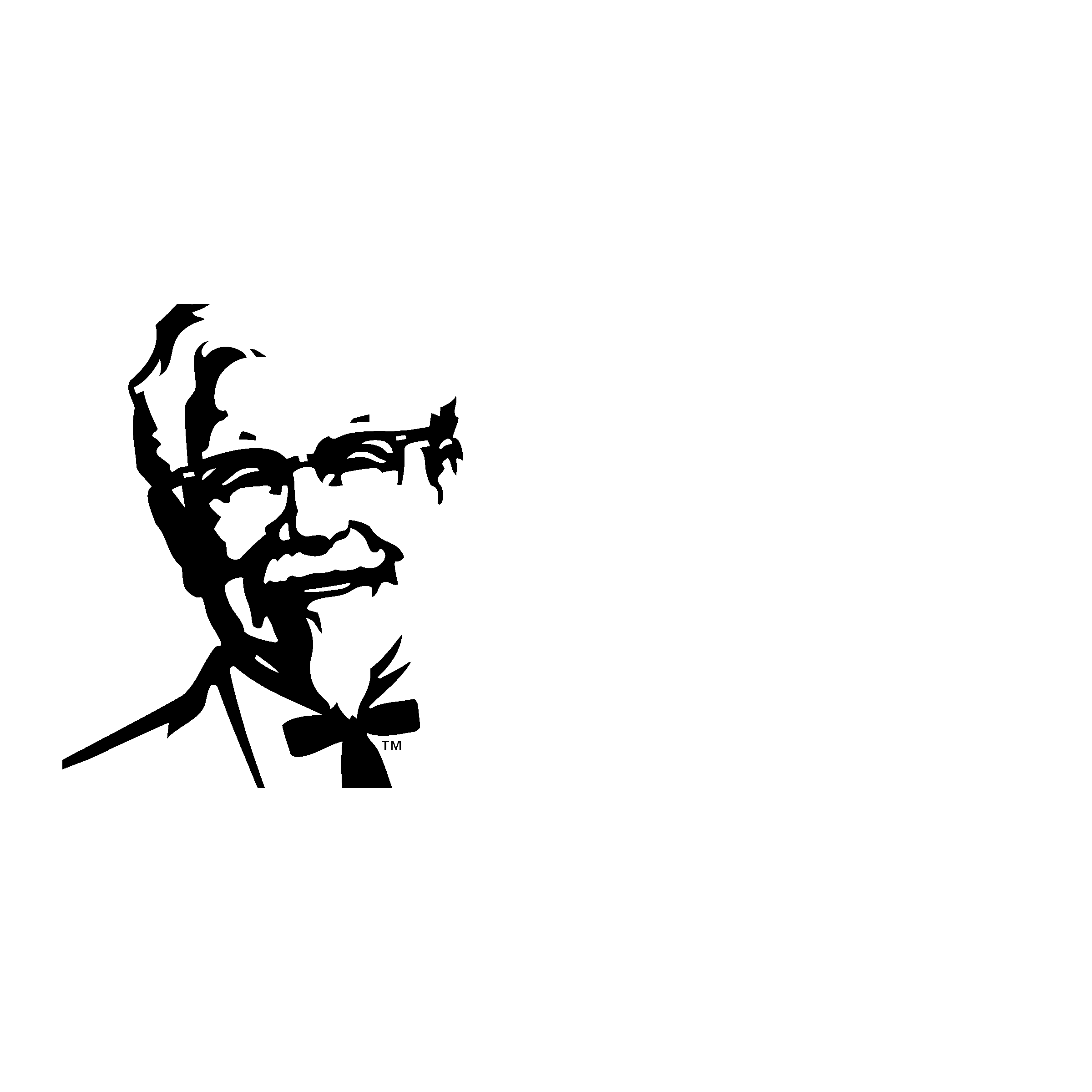 Black and KFC Logo - LogoDix