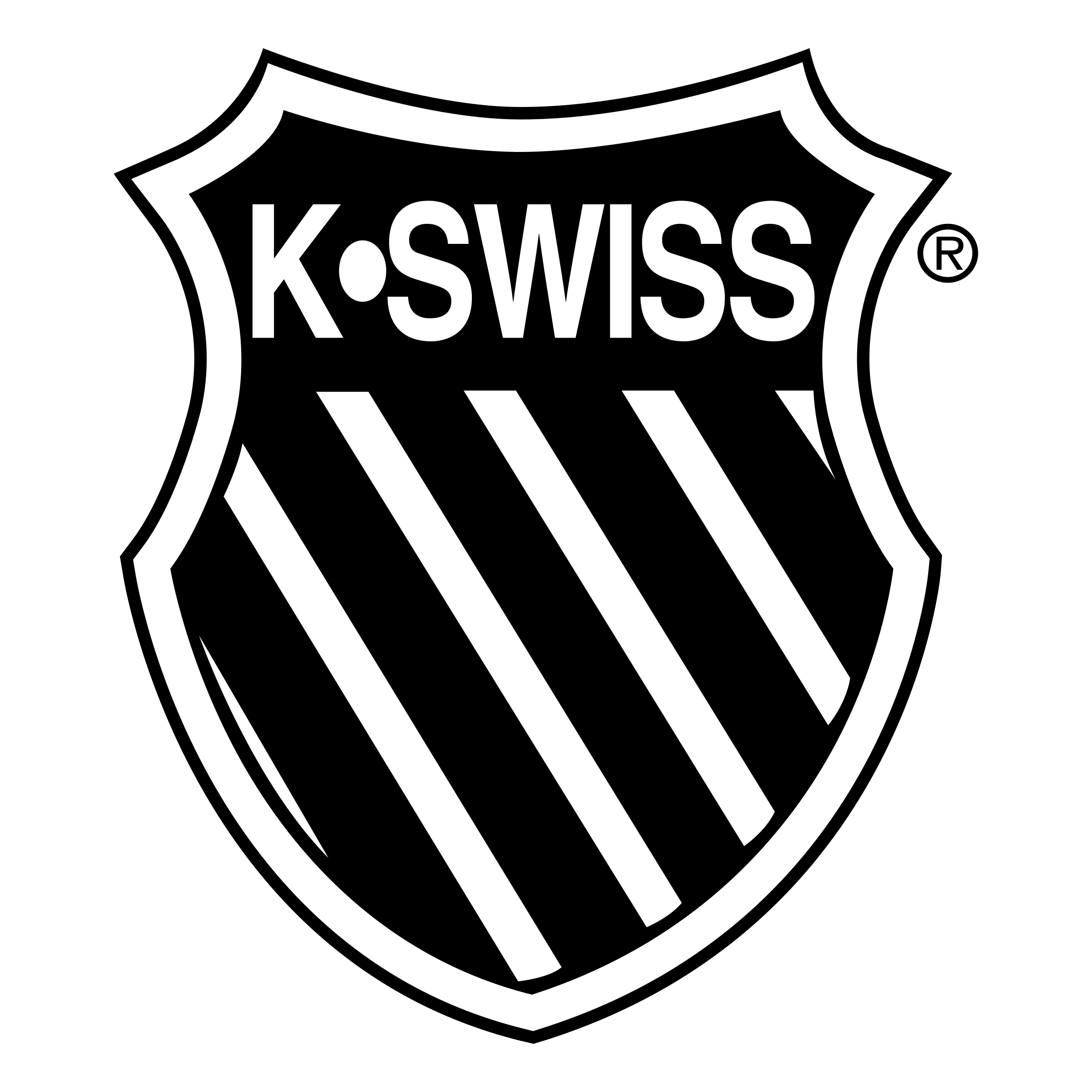 K-Swiss Logo - K Swiss Logo PNG Transparent & SVG Vector - Freebie Supply