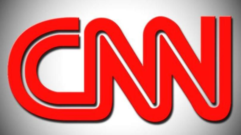 CNN Logo - In mock video, Trump slams man with face covered by CNN logo