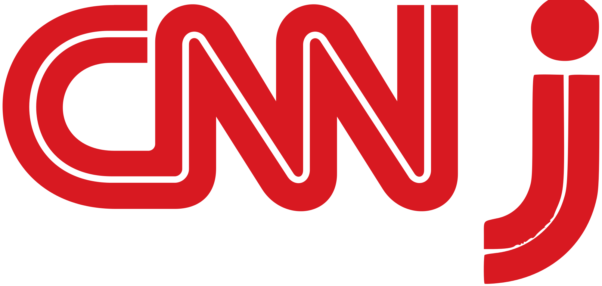 CNN Logo - File:CNN j logo.svg - Wikimedia Commons