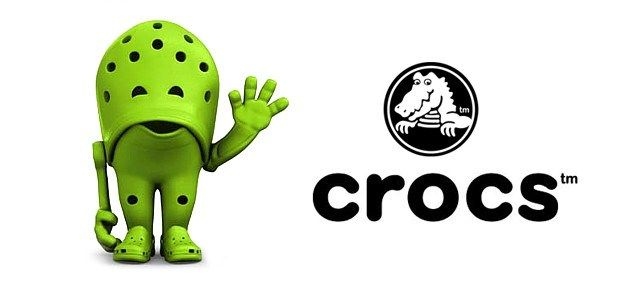 Crocs Logo - 7 Differences Between the Original Crocs and the Fakes - Stepadrom.com