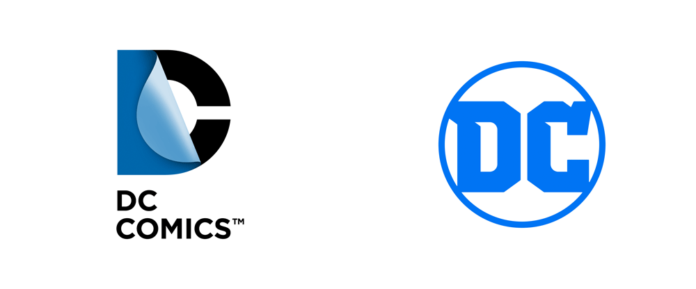 DC Logo - Brand New: New Logo for DC Comics / DC Entertainment by Pentagram