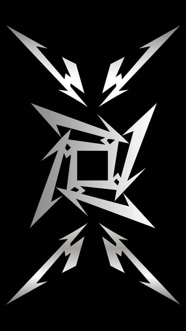 Metallica Logo - Metallica Logo ~ This one does make a great phone wallpaper! I've ...